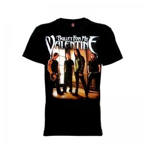 เสื้อยืด วง Bullet for My Valentine แขนสั้น แขนยาว S M L XL XXL [3]