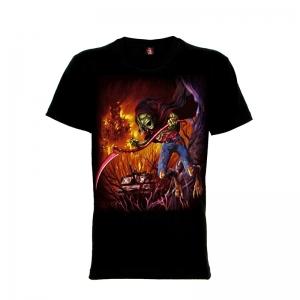 เสื้อยืด วง Iron Maiden แขนสั้น แขนยาว S M L XL XXL [27]