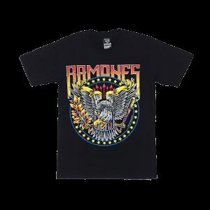 เสื้อยืด วง Ramones แขนสั้น สกรีนเฉพาะด้านหน้า สั่งได้ทุกขนาด S-XXL [NTS]