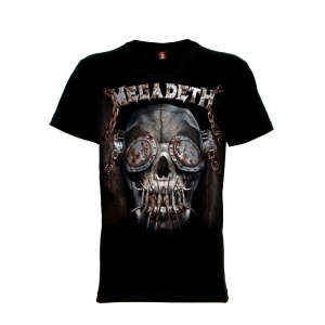 เสื้อยืด วง Megadeth แขนสั้น แขนยาว S M L XL XXL [13]