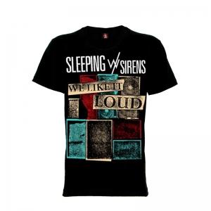 เสื้อยืด วง Sleeping With Sirens แขนสั้น แขนยาว S M L XL XXL [8]