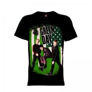เสื้อยืด วง Greenday แขนสั้น แขนยาว S M L XL XXL [3]