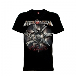 เสื้อยืด วง Helloween แขนสั้น แขนยาว S M L XL XXL [4]