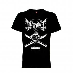 เสื้อยืด วง Mayhem แขนสั้น แขนยาว สั่งได้ทุกขนาด S-XXL [Rock Yeah]