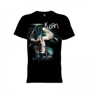 เสื้อยืด วง Korn แขนสั้น แขนยาว S M L XL XXL [4]