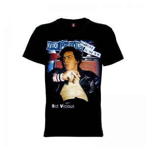 เสื้อยืด วง Sex Pistols แขนสั้น แขนยาว S M L XL XXL [1]
