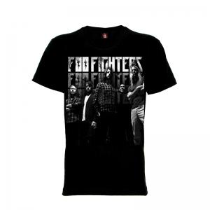 เสื้อยืด วง Foo Fighters แขนสั้น แขนยาว S M L XL XXL [3]