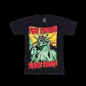 เสื้อยืด วง Five Finger Death Punch แขนสั้น สกรีนเฉพาะด้านหน้า สั่งได้ทุกขนาด S-XXL [NTS]