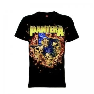เสื้อยืด วง Pantera แขนสั้น แขนยาว S M L XL XXL [4]