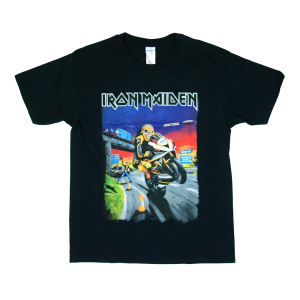 เสื้อทัวร์ วง Iron Maiden Not in This Lifetime tour ผ้า Gildan xS-3XL [เลิกผลิตแก้ลาย]