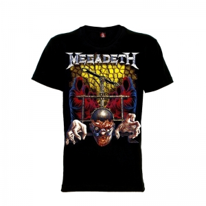 เสื้อยืด วง Megadeth แขนสั้น แขนยาว S M L XL XXL [9]