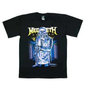 เสื้อยืด วง Megadeth แขนสั้น สกรีนเฉพาะด้านหน้า สั่งได้ทุกขนาด S-XXL [NTS]