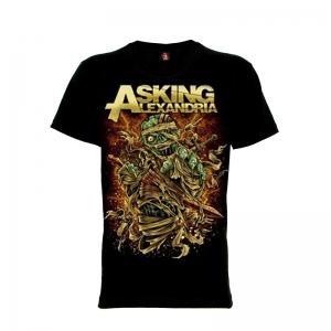 เสื้อยืด วง Asking Alexandria แขนสั้น แขนยาว S M L XL XXL [4]