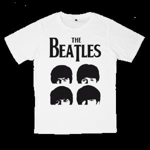 เสื้อยืด วง The Beatles สีขาว แขนสั้น S M L XL XXL [2]