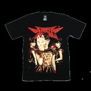 เสื้อยืด วง Babymetal แขนสั้น สกรีนเฉพาะด้านหน้า สั่งได้ทุกขนาด S-XXL [NTS]