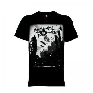 เสื้อยืด วง My Chemical Romance แขนสั้น แขนยาว S M L XL XXL [3]