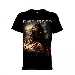 เสื้อยืด วง Disturbed แขนสั้น แขนยาว S M L XL XXL [6]