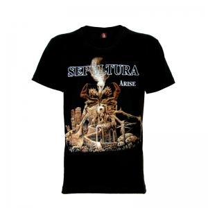 เสื้อยืด วง Sepultura แขนสั้น แขนยาว S M L XL XXL [1]