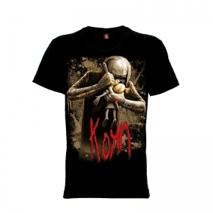 เสื้อยืด วง Korn แขนสั้น แขนยาว S M L XL XXL [5]