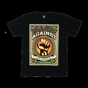 เสื้อยืด วง Rage Against the Machine แขนสั้น สกรีนเฉพาะด้านหน้า สั่งได้ทุกขนาด S-XXL [NTS]
