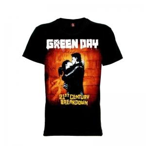 เสื้อยืด วง Greenday แขนสั้น แขนยาว S M L XL XXL [5]