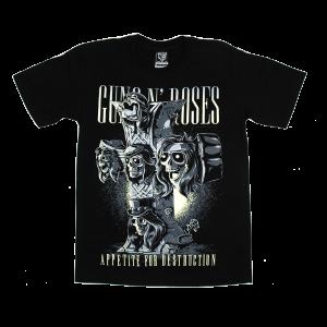 Tシャツ ロックバンド Guns N Roses 綿100% S-2XL [NTS]