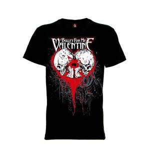 เสื้อยืด วง Bullet for My Valentine แขนสั้น แขนยาว S M L XL XXL [9]
