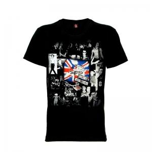 เสื้อยืด วง Sex Pistols แขนสั้น แขนยาว S M L XL XXL [3]