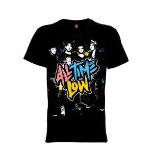 เสื้อยืด วง All Time Low แขนสั้น แขนยาว S M L XL XXL [เลิกผลิต]