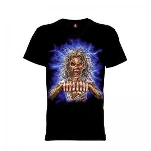เสื้อยืด วง Iron Maiden แขนสั้น แขนยาว S M L XL XXL [24]