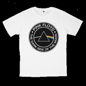 เสื้อยืด วง Pink Floyd สีขาว แขนสั้น S M L XL XXL [2]