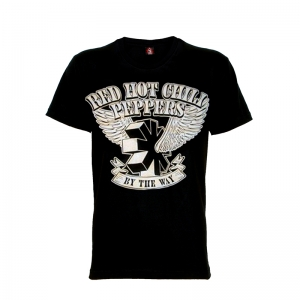 เสื้อยืด วง Red Hot Chili Peppers แขนสั้น แขนยาว S M L XL XXL [1]