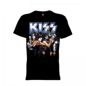 เสื้อยืด วง KISS แขนสั้น แขนยาว S M L XL XXL [10]