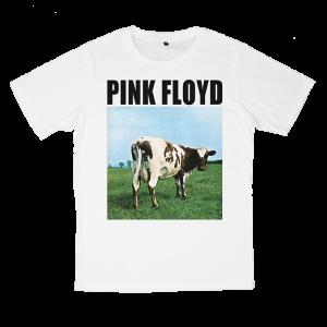 เสื้อยืด วง Pink Floyd สีขาว แขนสั้น S M L XL XXL [5]