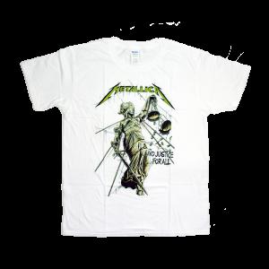 เสื้อยืดวง Metallica ผ้า Gildan xS-3XL [Gildan]