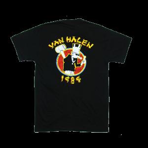 เสื้อยืด วง Van Halen แขนสั้น งาน Vintage ลายไม่ชัด ทุกขนาด S-XXL [Easyriders]