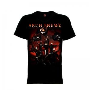 เสื้อยืด วง Arch Enemy แขนสั้น แขนยาว S M L XL XXL [3]