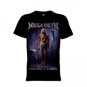 เสื้อยืด วง Megadeth แขนสั้น แขนยาว S M L XL XXL [15]