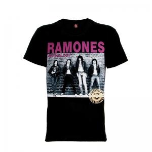 เสื้อยืด วง Ramones แขนสั้น แขนยาว S M L XL XXL [2]