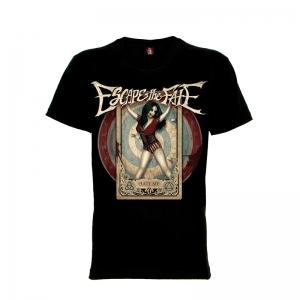 เสื้อยืด วง Escape the Fate แขนสั้น แขนยาว S M L XL XXL [5]