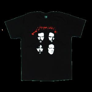 เสื้อยืด วง Metallica แขนสั้น งาน Vintage ลายไม่ชัด ทุกขนาด S-XXL [Easyriders]