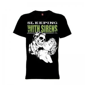เสื้อยืด วง Sleeping With Sirens แขนสั้น แขนยาว S M L XL XXL [6]