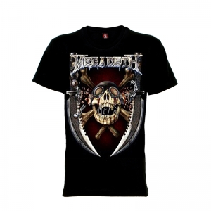 เสื้อยืด วง Megadeth แขนสั้น แขนยาว S M L XL XXL [8]