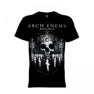 เสื้อยืด วง Arch Enemy แขนสั้น แขนยาว S M L XL XXL [1]