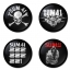 Sum41 button badge 1.75 inch custom backside 4 type Pinback, Magnet, Mirror or Keychain. Get 4 in package [5] thumbnail 1