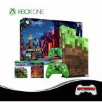 Xbox One S Minecraft Limited Edition Bundle (1TB)