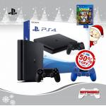 PS4 Slim 1TB DualShock 4 50%Off