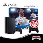 PS4 Slim 500GB Bundle FIFA 18 DualShock 4 50%Off