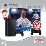 PS4 Slim 500GB Bundle FIFA 18 DualShock 4 50%Off