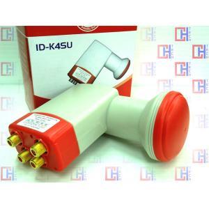 LNB ID-K4SU รับสัญญาณดาวเทียมไทยคม KU 4 PORT